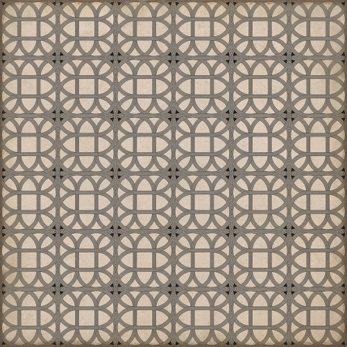 24371 LAMERIE LATTICE - JOSEPH WARD 72 X 72 Vinyl Floor Cloth