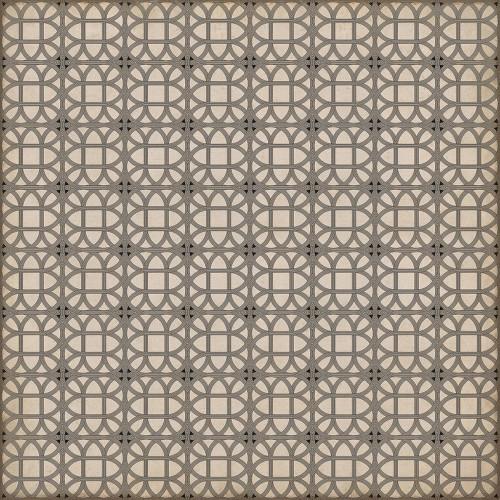 24372 LAMERIE LATTICE-JOSEPH WARD 96 X 96 Vinyl Floor Cloth