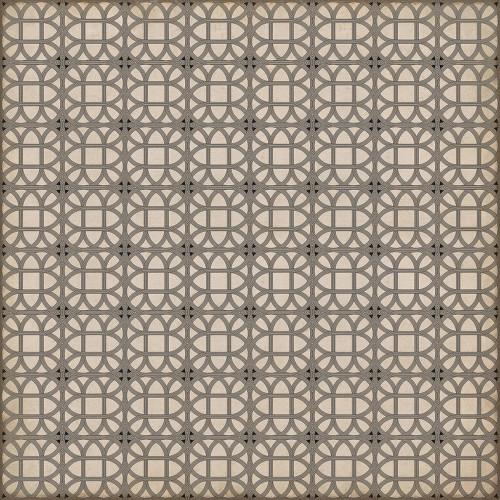 24373 LAMERIE LATTICE-JOSEPH WARD 120 X 120 Vinyl Floor Cloth
