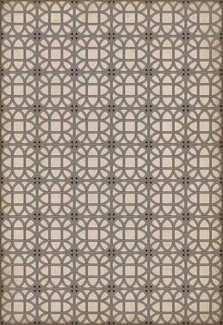 14151 LAMERIE LATTICE-JOSEPH WARD 70 X 102 Vinyl Floor Cloth