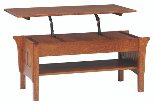 Mission Lift top Coffee Table 1800-QF