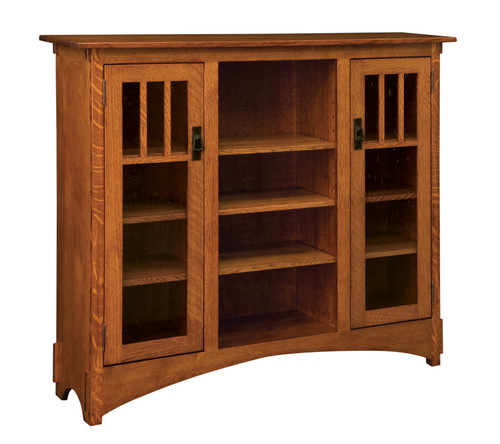 "Mission Display 56""h Bookcase HDMB13-HB"