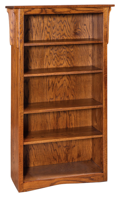 "ECONOMY 60""h BOOKCASE HEBSL-HB"