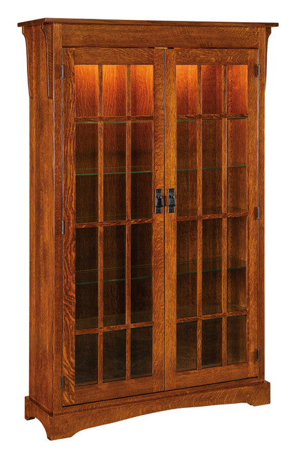"Walker Mission Hutch 72""h HWAHXL-HB"