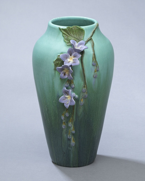 Skyflower Ceramic Pottery Vase by Ephriam Pottery