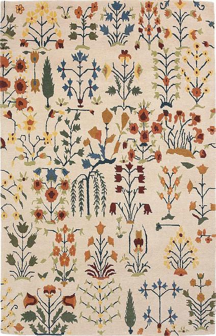 Garden of Paradise Parchment Rug (CC71)