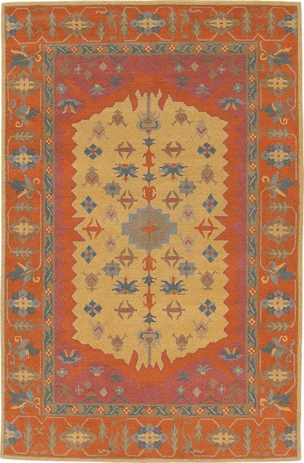 Tribal Serapi Lemonade Rug 35A/U-184
