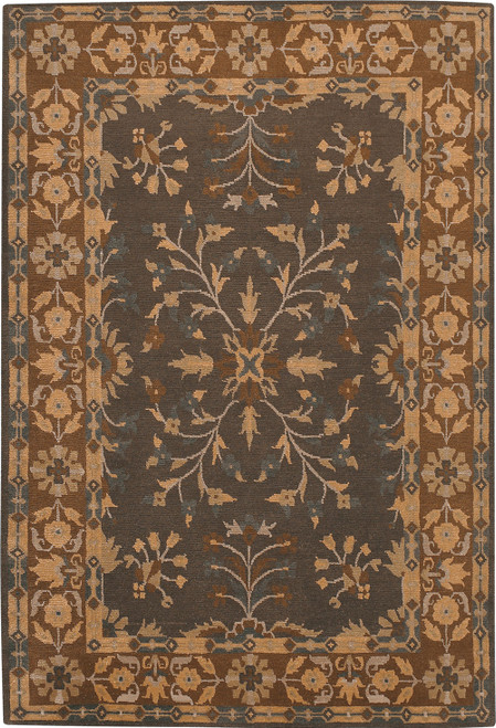 Kew Gardens Dark Chocolate Rug