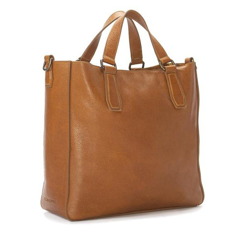 Ellington Leather Market Tote W/ Large Clutch