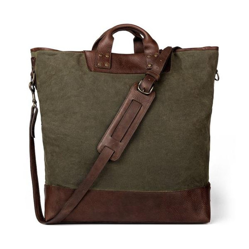 Heritage Waxed Forest Canvas Ice Block Bag