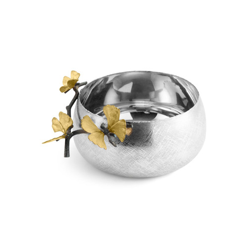 Butterfly Ginkgo Serving Bowl by Michael Aram