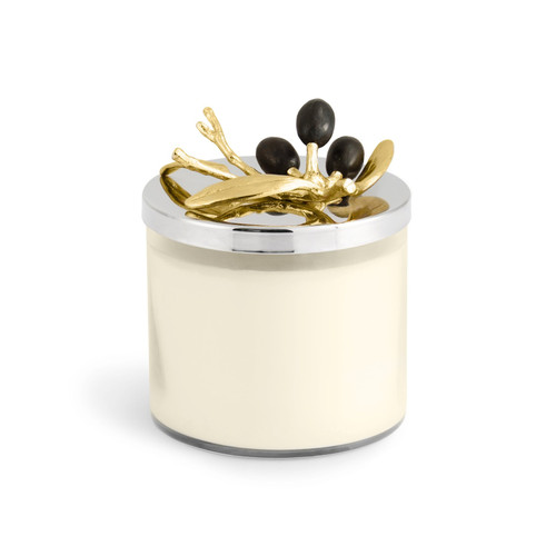 Olive Branch Gold Candle by Michael Aram