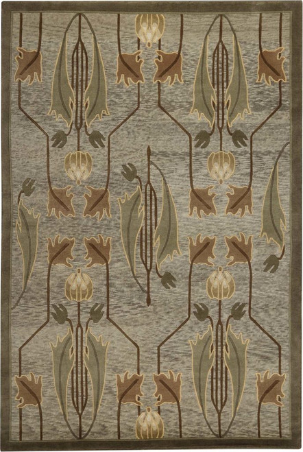 Rennie Tulip Sage Stickley Rug (RU-1440)