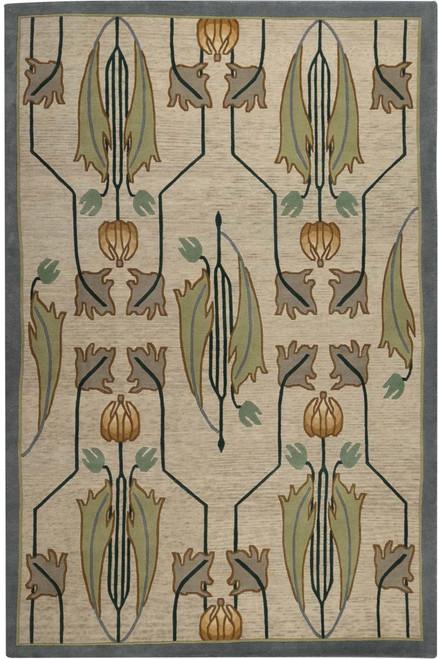 Rennie Tulip Ivory Stickley Rug