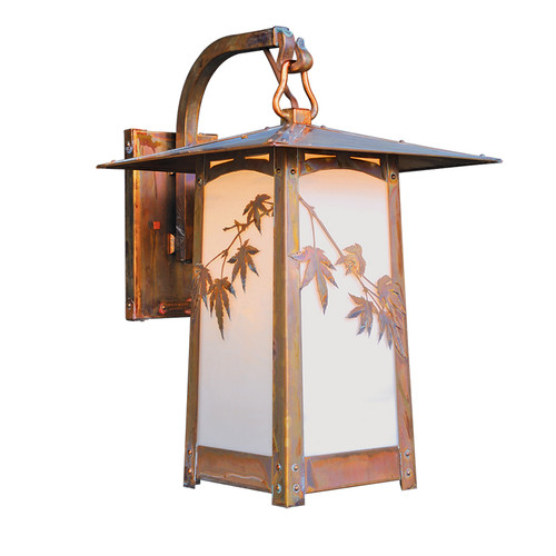 Japanese Hooked arm Sconce