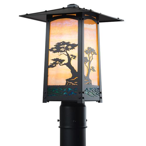 Monterey Cypress Post Mount Light