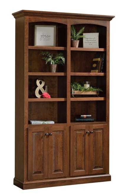 Traditional Bookcase BK-TR-1248-84 by Dutch Creek