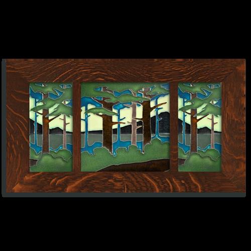 4x8 and 8x8 Pine Landscape Framed Tile Set