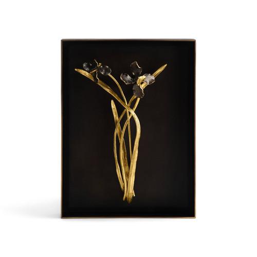 Black Iris Shadow Box by Michael Aram