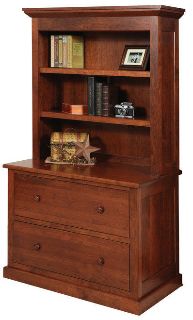 Homestead Lateral File and Bookshelf