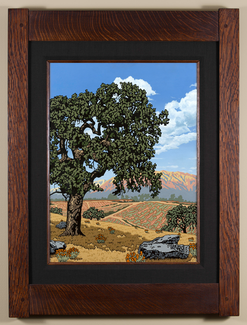 Sentinel Valley Oak Black Linen