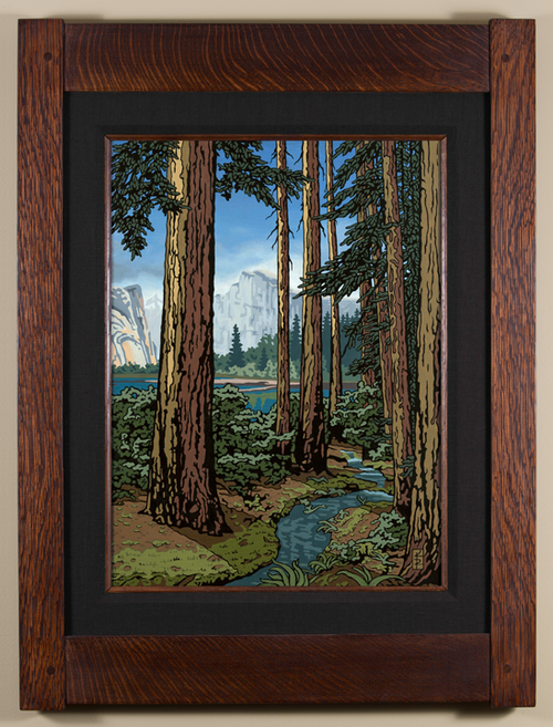 Majestic Red Fir Print by Keith Rust