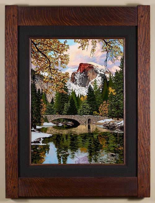 Serene Half Dome Print by Keith Rust