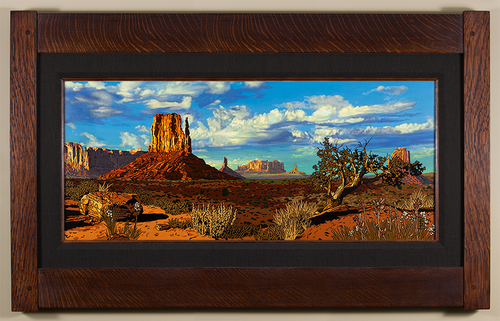 Sprawling Monument Valley Print by Keith Rust