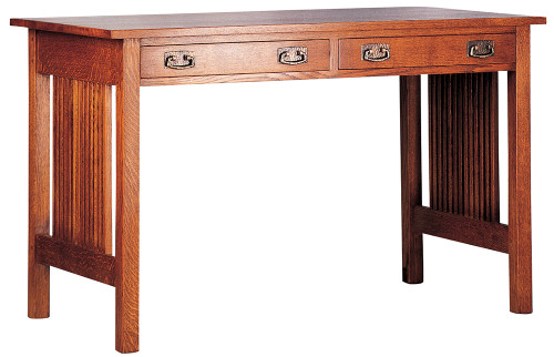 Spindle Library Desk by Stickley