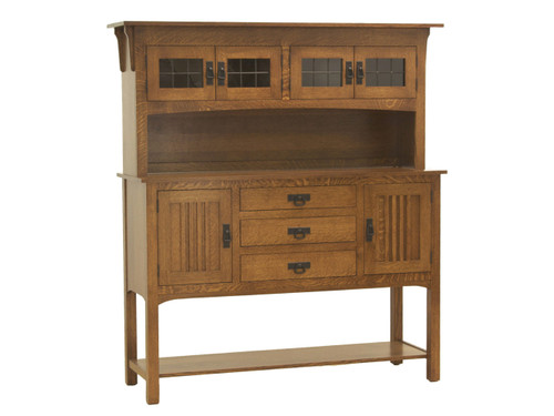 Liberty Mission Sideboard with Hutch