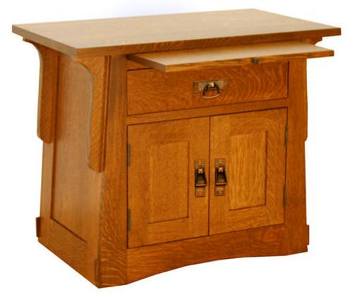 Aurora Crofter Bedside Table w/ Double Doors ACW-3301S-F