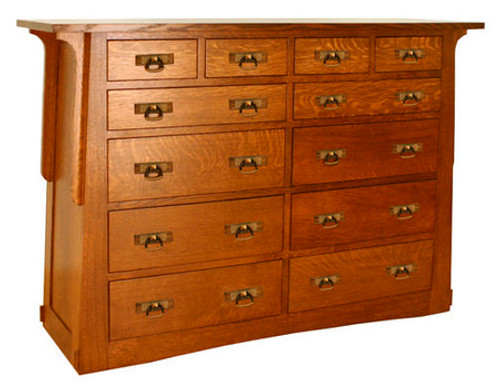 Aurora Crofter 12 Drawer Grand Chest ACW-6512-F