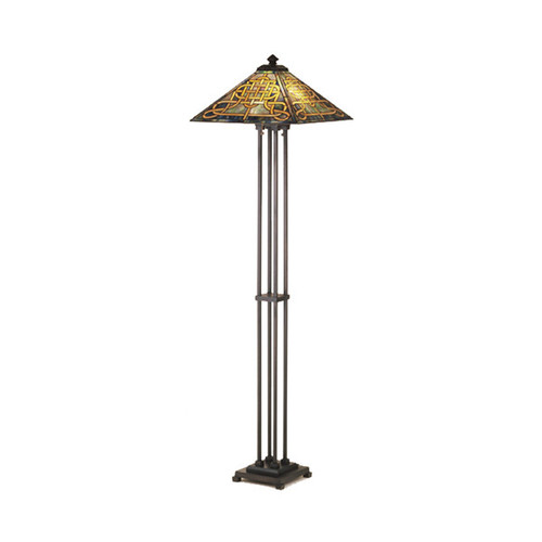Knotwork Mission Floor Lamp 48023-M