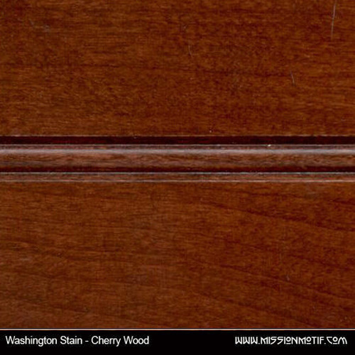 Cherry Wood - Washington Stain Sample