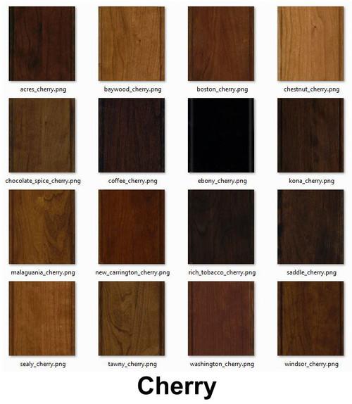 16 Piece Cherry Wood Stain Box Set