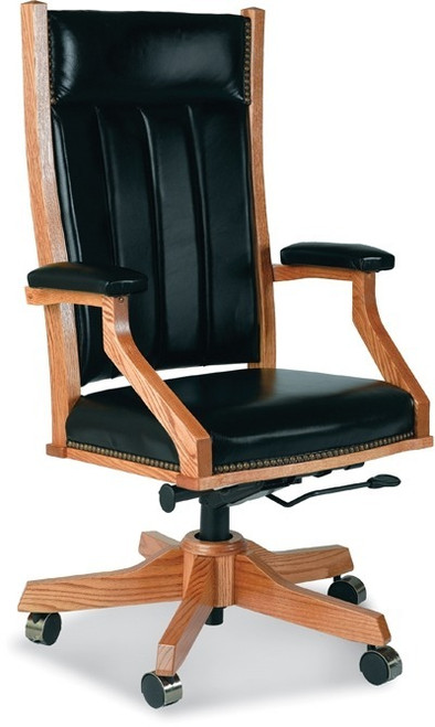 Mission Desk Chair with Gas Lift MDC-BER-255