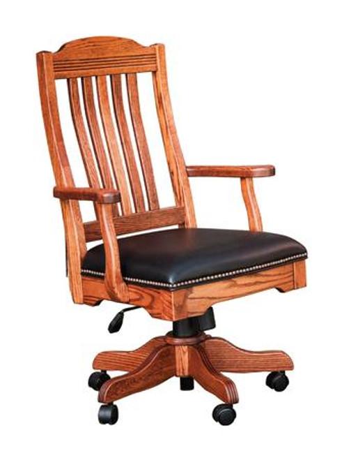 Royal Desk Arm Chair with Gas Lift RDAC-BER-330