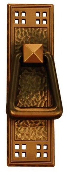 T05 Antique Copper Period Mission Door Pull