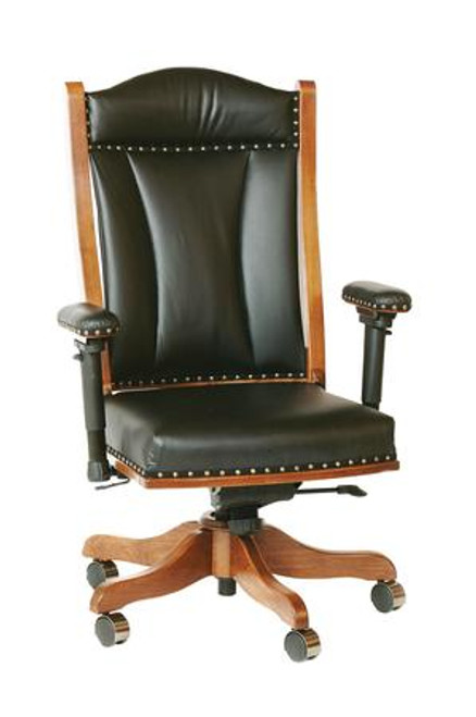 Desk Chair with Adjustable Arms DCA-BER-65