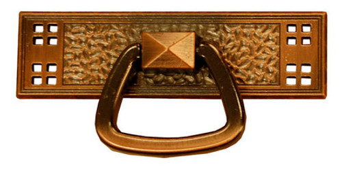T06 Antique Period Mission Drawer Pull