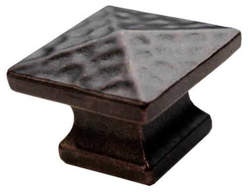 T11 Black Sq Knob