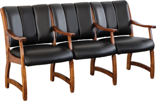 Midland 3-Seat Multiple Client Chair MDM-BER-3