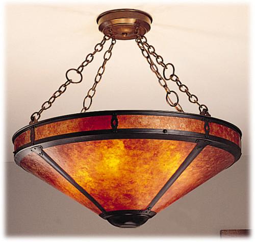 The Mica Lamp Company 105B Grand Mission 24 Inch