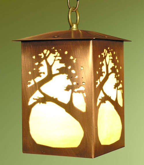 Lantern Pendant Oak Tree Design