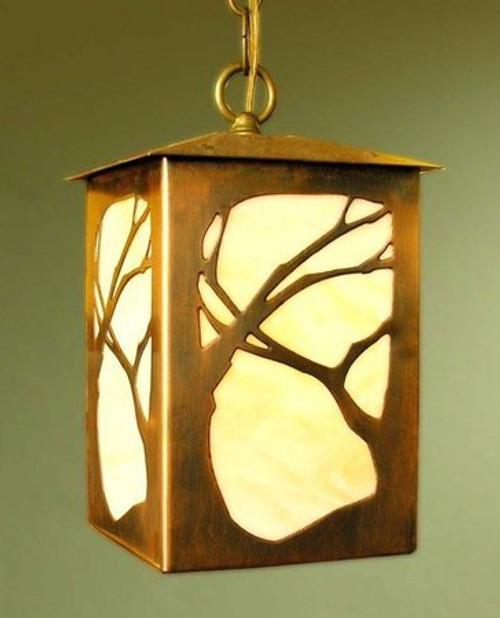 Lantern Pendant - Art Nouveau Design