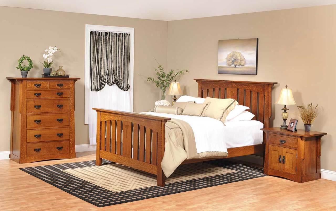Mission Style Bedroom Furniture Craftsman Bedroom Furniture