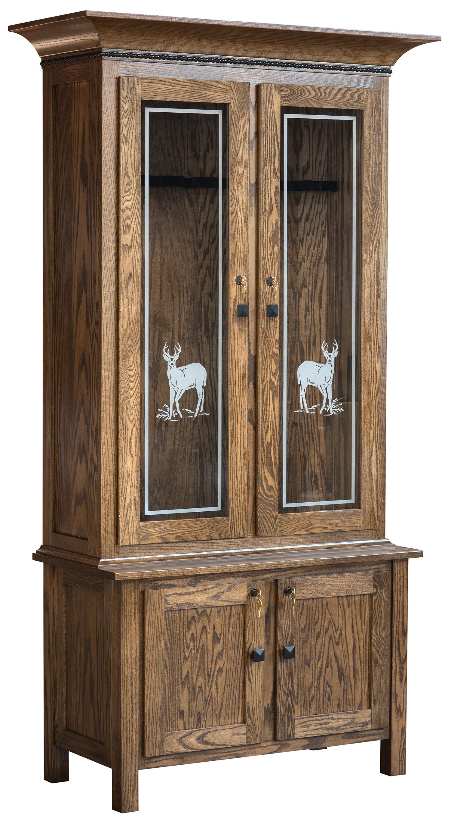 Secret Storage in hardwood furniture