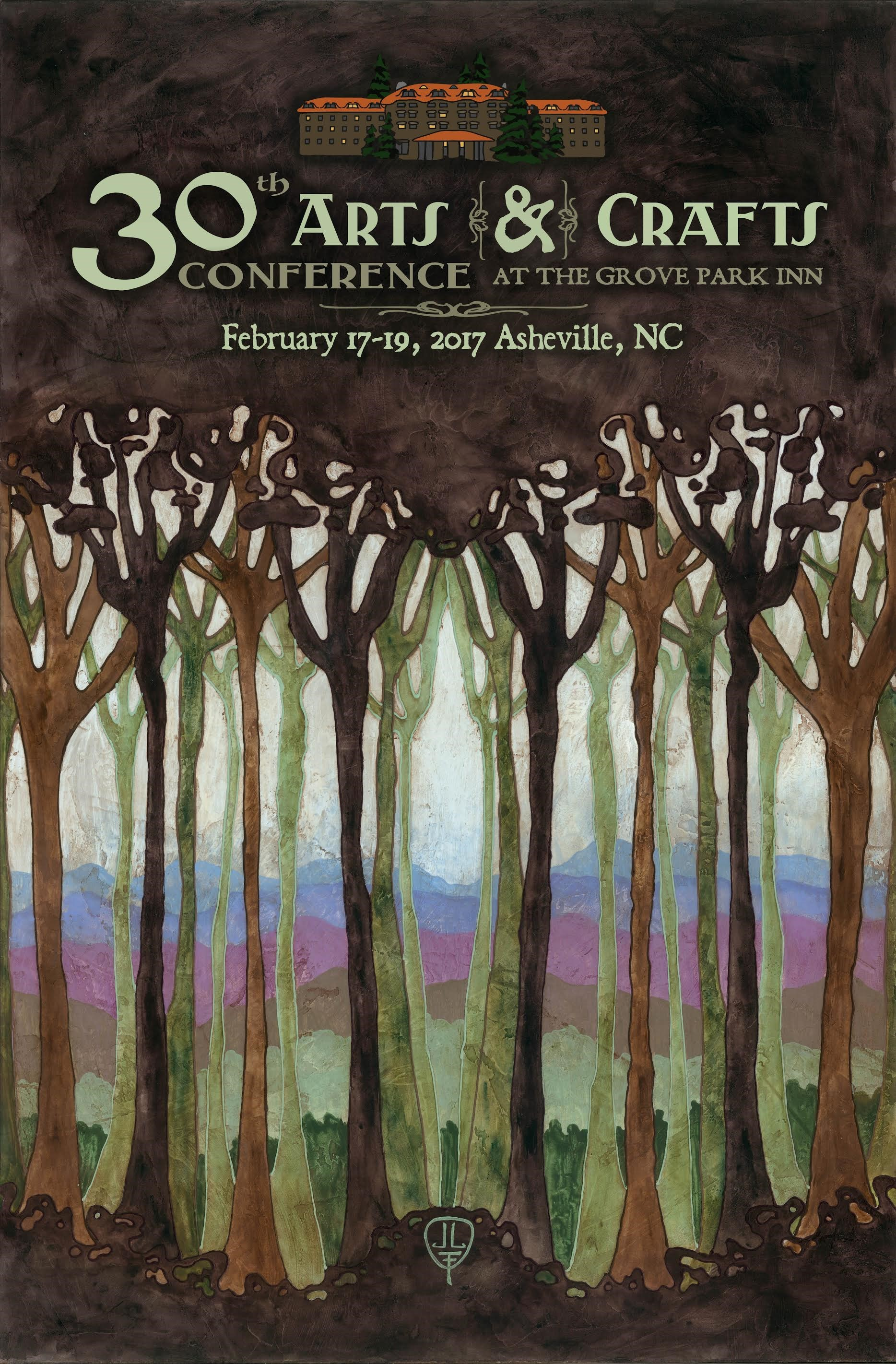 The 30th National Arts & Crafts Conference at the Grove Park Inn