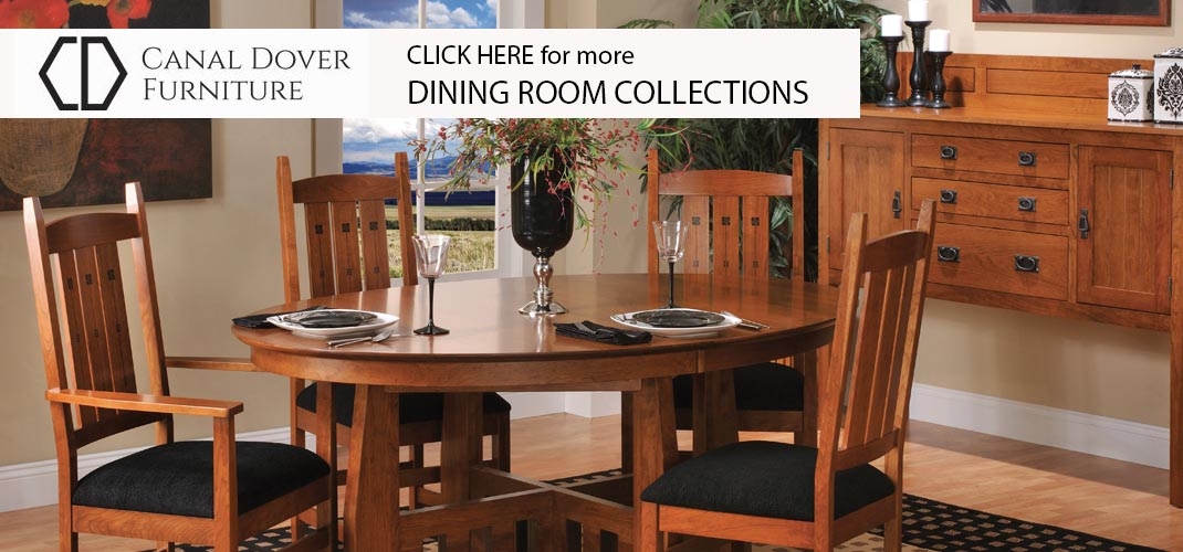 Dining Room Collection Craftsman Style Dining Table