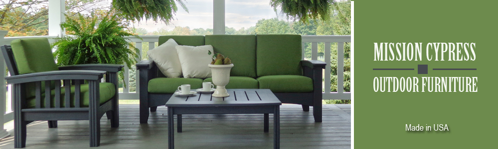 Mission Style Outdoor Furniture - Mission Outdoor Furniture